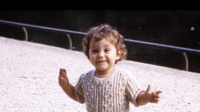 Cette actrice a dévoilé une photo de son enfance!