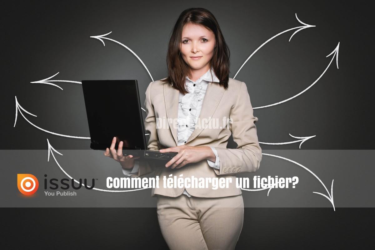 Comment télécharger un PDF ou magazine sous ISSUU?