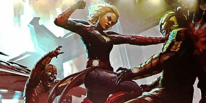 Début du tournage de Captain Marvel