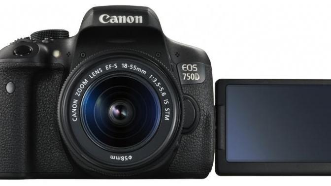 J'ai testé le Canon EOS 750D