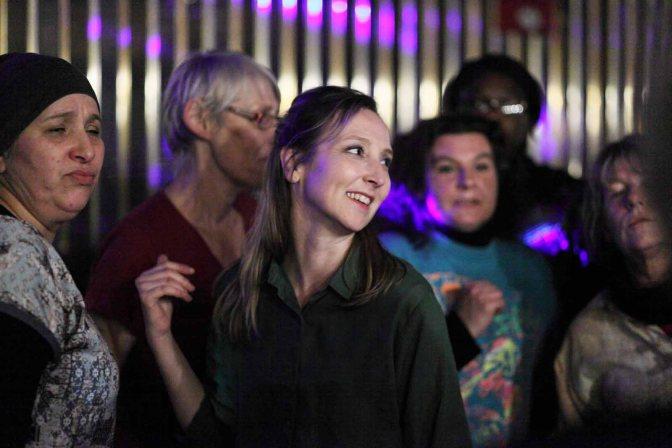 «Les Invisibles» un film touchant et une Audrey Lamy magnifique, sublime et talentueuse.