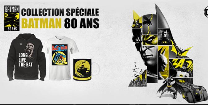 Batman ses produits dérivés pour ses 80 ans