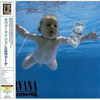 Pochette édition japonaise Nevermind Nirvana