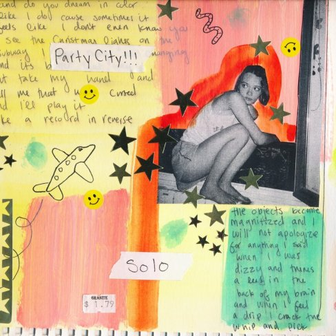Charlotte Rose Benjamin - Party City Solo - EP Cover Artwork