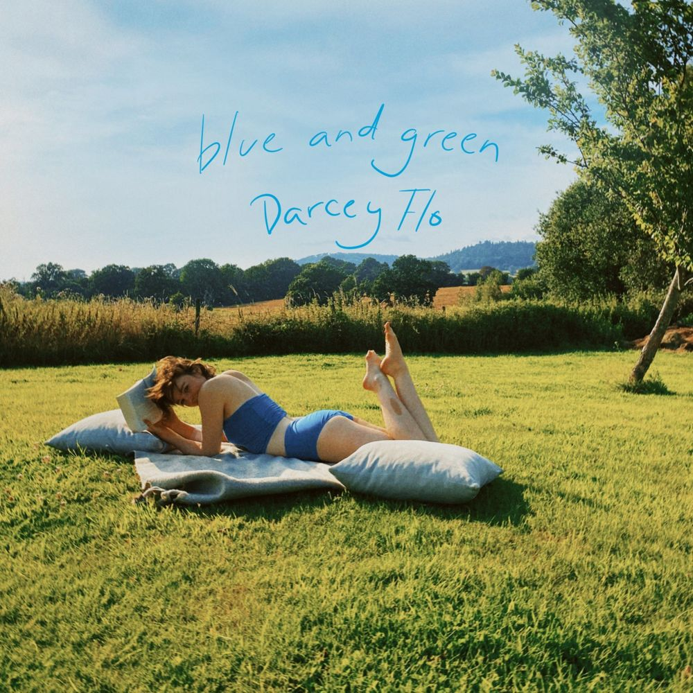Darcey Flo-Blue and Green